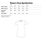 Long Sleeve Specifications Metric