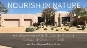 Nourish in Nature Facebook Banner
