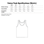 Tank Specifications Metric