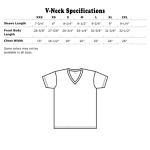 Vneck specifications US